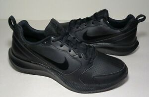 Nike-Size-10-M-TODOS-Black-Running-Sneakers-New-Men-039-s-Shoes