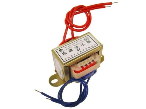 EI41 5 W 220 V 50 Hz climatisation transformateur de puissance simple//double sortie 6V//7.5V//9//12//15//18//24V
