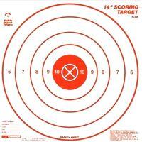 Crosman Target 3 Pc Set Visible Impact Scoring 14 Inch Usa T14r-p
