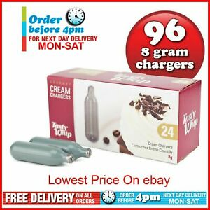 96-Whipped-Cream-Chargers-Nitrous-Oxide-N20-Tasty-Whip-Canisters-8g-24s-NOS-NOZ