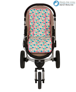 Universal-Reversible-Pure-Cotton-Pram-Liner-by-Keep-Me-Cosy-Woodland-Friends