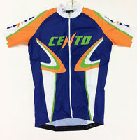 Cento Arancia Classic Cycling Jersey Full Zip - Made In Italy By Gsg