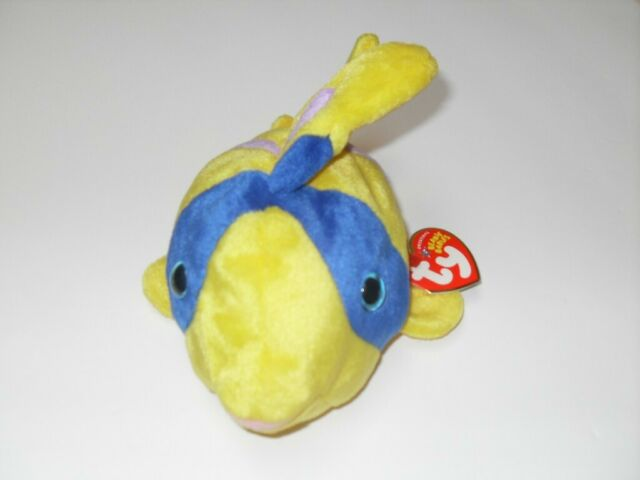 2005 TY Original Beanie Babies Retired Oriel Fish. Errors - Look at Pictures.