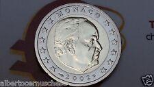 MONACO 2 euro 2002 fdc UNC Principe RANIERI III prince prinz принц