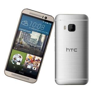 Unlocked-Plata-5-034-HTC-One-M9-4G-LTE-32GB-20MP-Quad-core-Android-Telefono-Movil