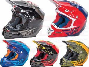 Details about Fly Racing F2 Carbon Pure Helmet Motocross Dirt Bike Offroad  ATV UTV Snowmobile