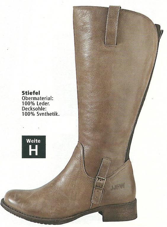 Zapatos especiales con descuento SCHUHE DAMENSCHUHE STIEFEL STIEFELETTEN LEDER JJFW Gr. 39 ( 5,5SCHAFTWEITE 4/5