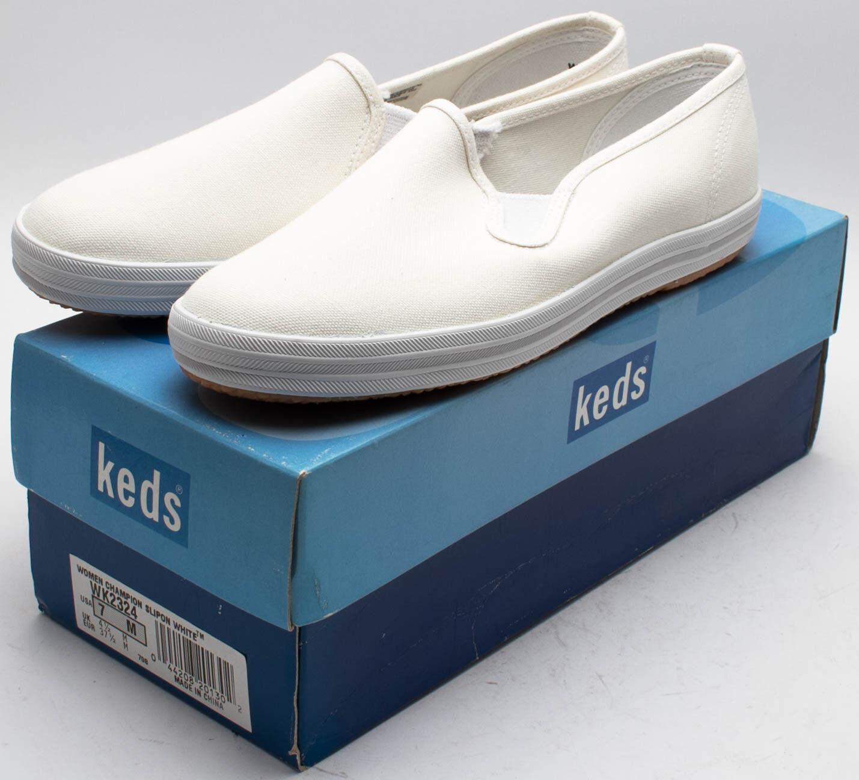 Keds Damen Vintage 5055cms Champion Schuh zum Hineinschlüpfen wk2324 weiß Größe