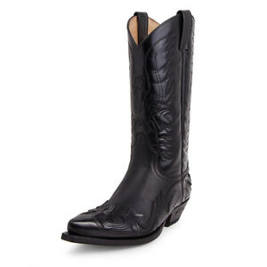 07173131ead Details about 3241 boots Sendra boots western Black limited