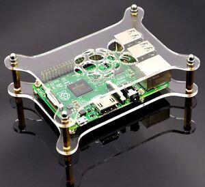 Transparentes-Acrylgehaeuse-Durchsichtiges-Gehaeuse-fuer-Raspberry-Pi-3-2-amp-B-ZJP