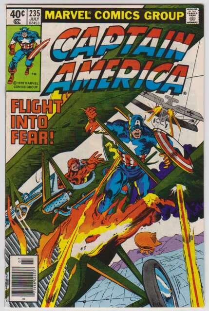 L5017: Captain America #235, Vol 1, NM Condition