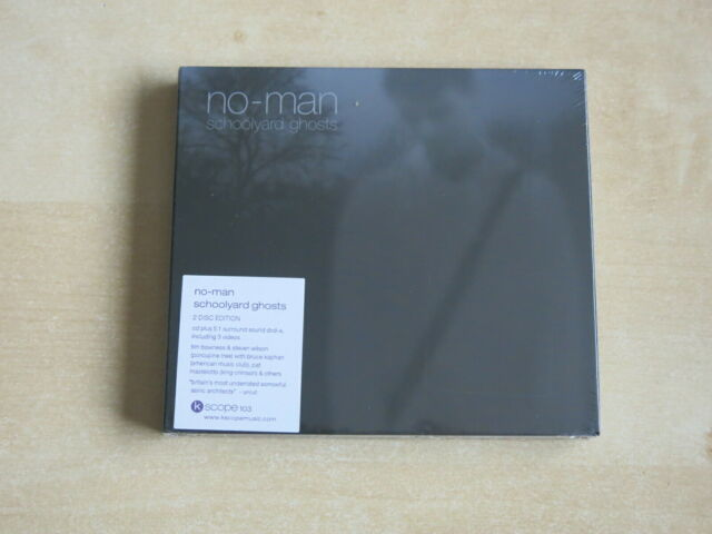 NO-MAN Schoolyard Ghosts - CD / DVDa 2 disc set New/Sealed (CD 241)