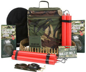 KAS-Kids-Boys-Army-Great-Escape-Pack-Bag-Toy-Soldier-Dynamite-Compass-Play-Set