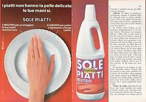Pubblicita-Advertising-Werbung-1975-nuovo-SOLE-PIATTI-PANIGAL-2