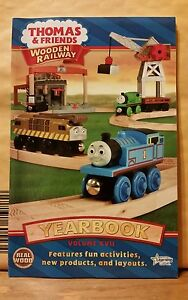 Details About New Thomas The Tank Engine Yearbook 2011 Volume Xvii Wooden Railway Collection