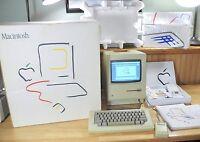 1984 Apple MACINTOSH 128K Picasso BOX Complete Set! Original Mac 128K M0001 RARE
