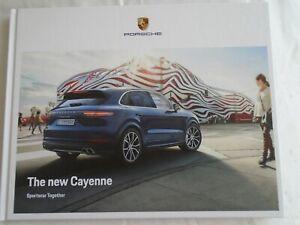 Porsche Cayenne Range Brochure Sep 2017 Ebay