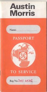 Austin-Morris-Passport-to-Service-AKD-7744-6th-Edition-1976