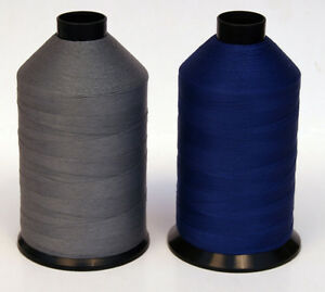 VERY STRONG TKT 8 BLACK SEWING THREAD 1750m SPOOL CORESPUN LEATHER OXELLA RASANT
