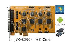 16 channel dvr card security cctv recorder,PCI-E win 7&8 32&64 Bit, cloud p2p