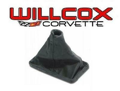 77-82 CORVETTE Shift Boot Maual or AT Black Leather Shifter Boot NEW