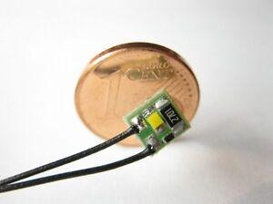 S120-4 Stück LED Beleuchtung Führerstandsbeleuchtung sunny warmweiß FSB-1