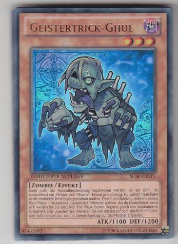 YU-GI-OH Geistertrick Ghul Ultra Rare SHSP-DESP1