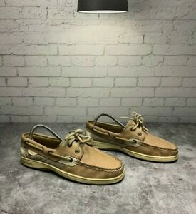 WOMENS-SPERRY-TOP-SIDER-BILLFISH-2-EYED-BOAT-SHOES-9276619-SZ-6m