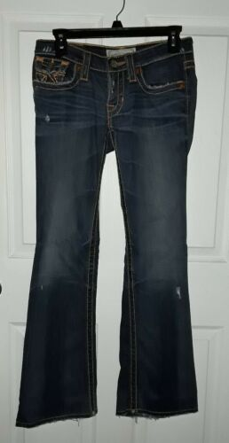 26l Denim Distressed Big Størrelse Vintage Jeans Liv Star tSqSw0xIB