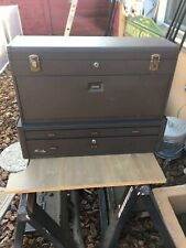 Kennedy Tool Box Machinist 8 Dr Top Box And 2 Dr Mid Box