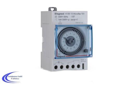 Legrand mechanische analoge Zeitschaltuhr für Hutschiene Zählerschrank