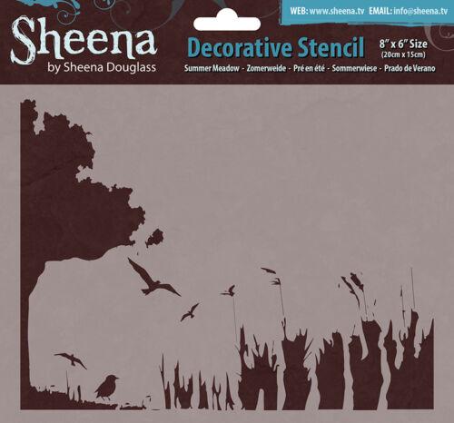 Sheena Douglass 8x8 8x6 7x7 Decorative Stencils FREE UK P/&P