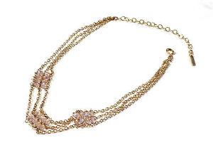 Bijou-alliage-dore-collier-tour-de-cou-Kookai-necklace