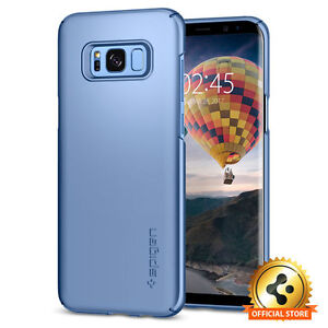 Galaxy S8 Case Thin Fit Blue Coral