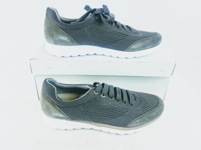 GEOX Men's U DAMIAN B Sneakers in Gray Size 429