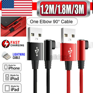 Elbow-Braided-Nylon-Lightning-Charger-Cable-Game-For-Apple-iPhone-X-8-7-6-11-Max