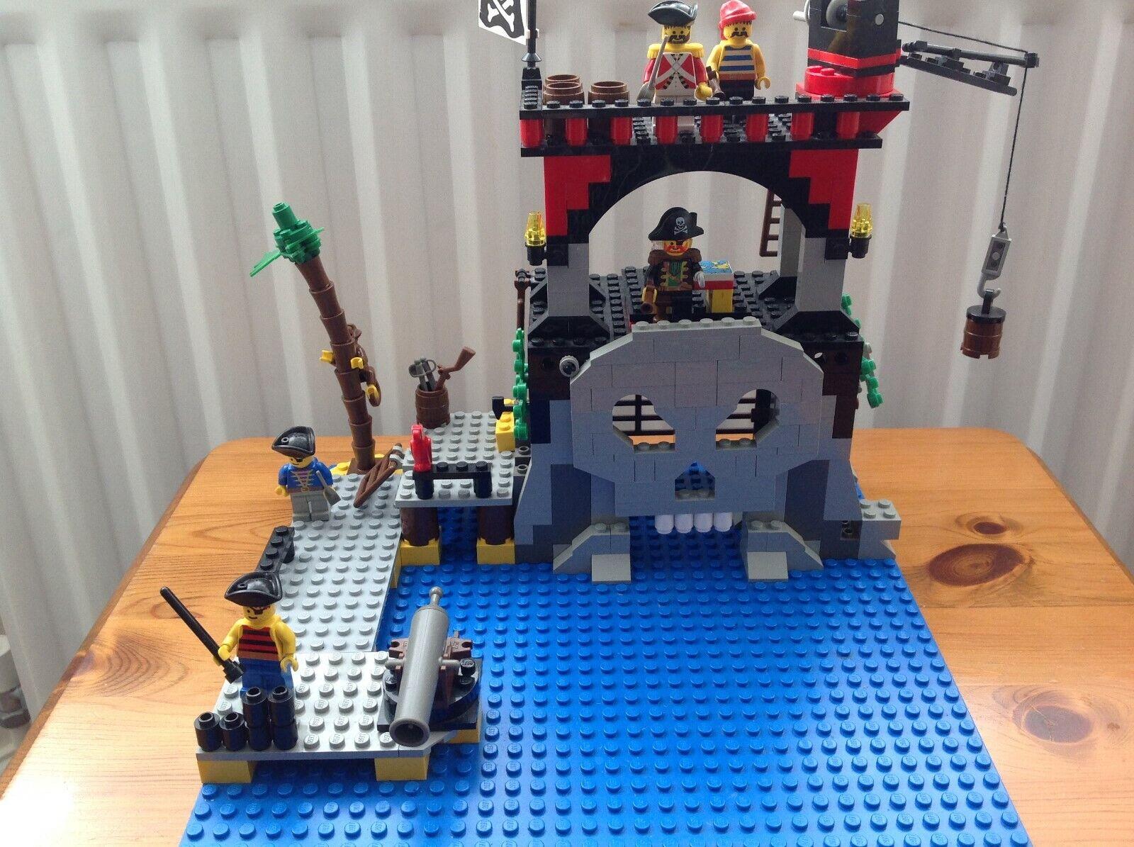 LEGO SYSTEM 6279   Pirates Skull Island 1995 RARE VINTAGE mmm