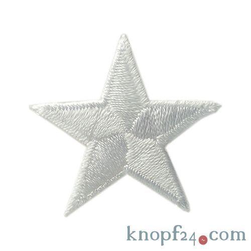 Applikation zum Aufbügeln Stern 10 Farben zur Auswahl