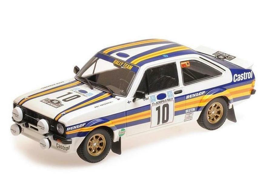 Ford RS 1800-rojohmans equipo-Señor Vatanen nos-Acrópolis Rally 1980 155808710 Minichamps 1 18
