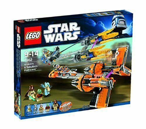 *BRAND NEW* Lego 7962 Star Wars Anakin's and Sebulba's Pod Racers MISB Set x 1