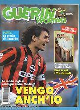 GUERIN SPORTIVO-1996 n.46- MALDINI-ZOLA- INSERTO RONALDO STORY -CALCIOMONDO