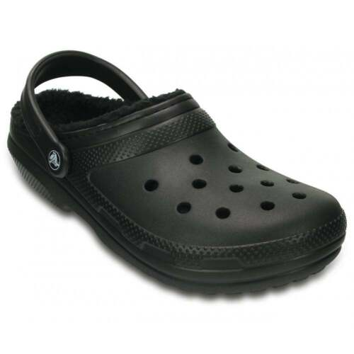 Crocs Classic Lined Unisex Shoes Clogs All Sizes