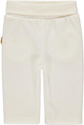 Steiff Jogging Pantaloni Jogger Lang Caldo Velour Nicky Bianco 56 62 68 74- Ultimi Design Diversificati