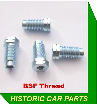 "2 x 3//8/"" BSF 20tpi Male BRAS BRAKE PIPE NUTS for MG TD /& TF 1950-55"