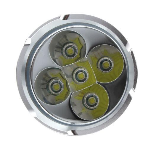 32000LM SKYRAY 12 x CREE XM-L T6 LED Flashlight Torch 4 x 18650 Hunting Lamp