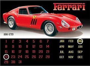 Ferrari-250-Gto-Metallo-Calendario-Perpetuo-400mm-x-300mm-Fd