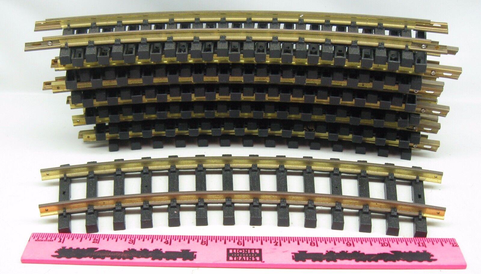 G scala   gree scale 12 Curved track Marronee e ottone metal