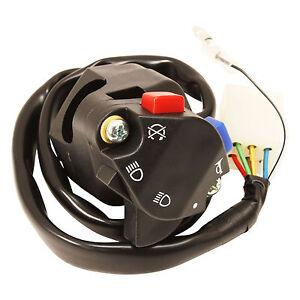 psychic left handlebar switch headlight horn kill fits ktm. Black Bedroom Furniture Sets. Home Design Ideas