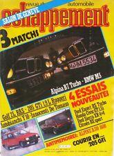 Echappement n°198-1985-USINE ALPINE-BMW-ALPINA-FORD-HONDA-CITROEN-INNOCENTI