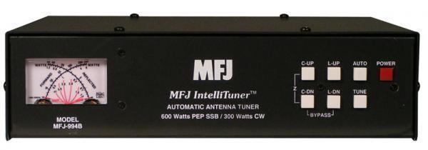 New MFJ-994B HF(1.8-30MHz) Automatic Antenna Tuner w/ SWR/Wattmeter, Handles 600w.